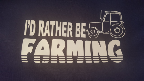 'I'd rather be Farming'